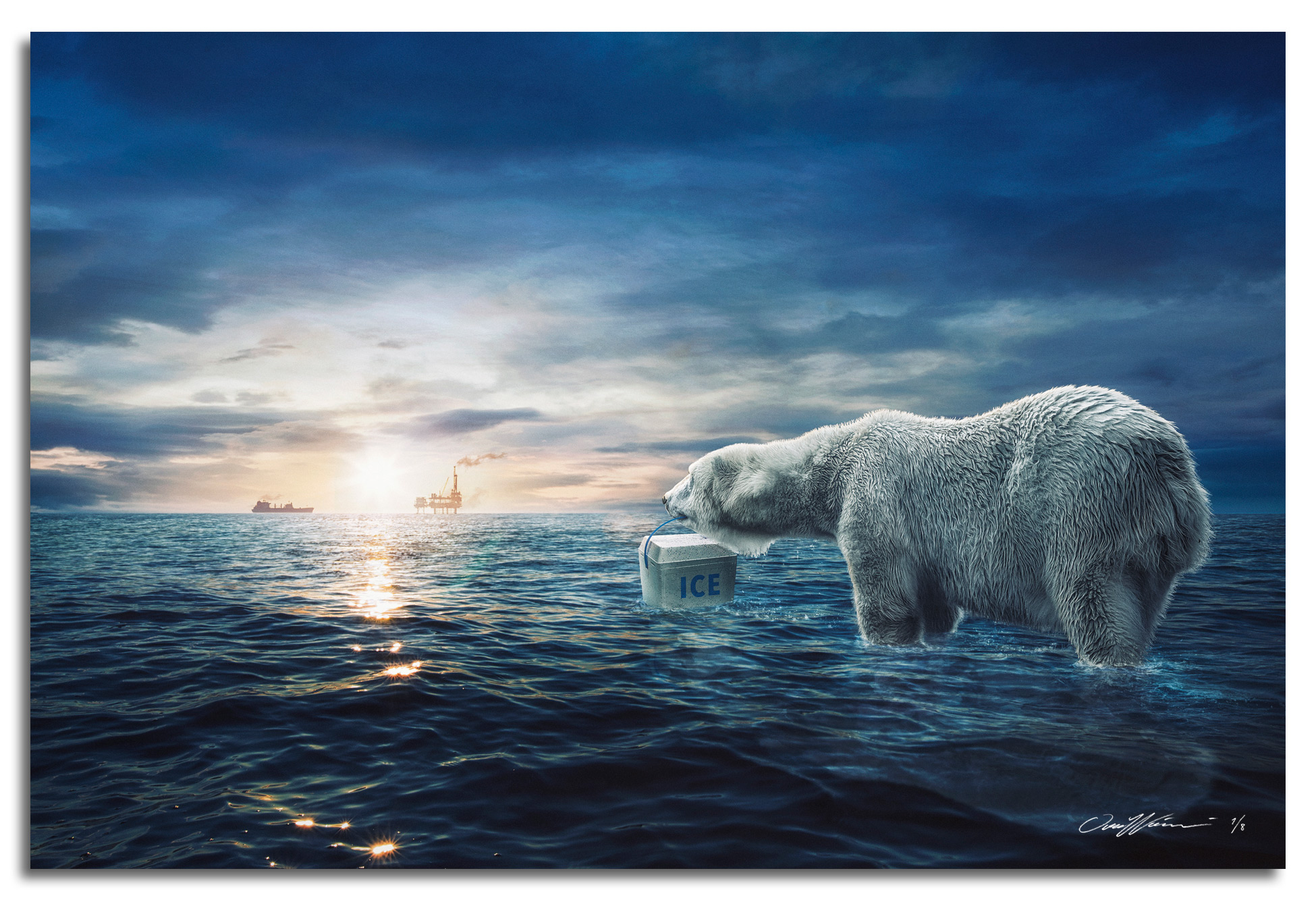Arctic Future , 2016  Limited Edition prints available sizes: Large 150 x 100 cm - Edition of 3 Medium 90 x 60 cm - Edition of 8
