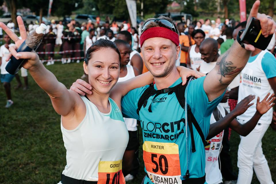 Uganda Maraton, a rajt előtt