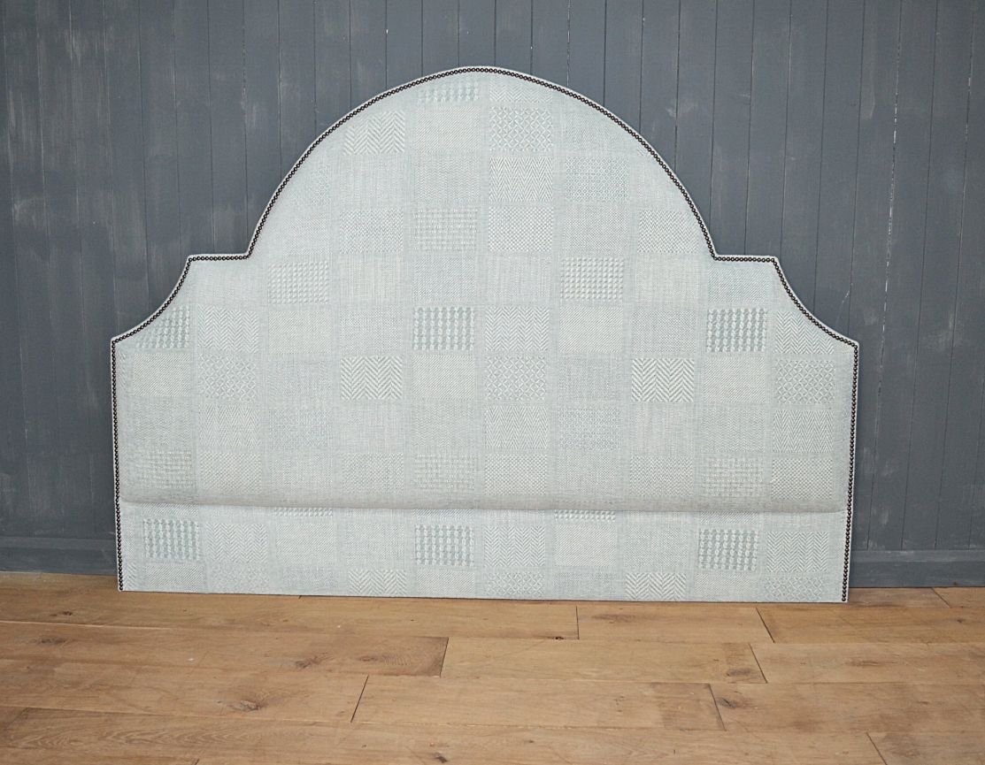 Bespoke - shaped with inlayed close stud border