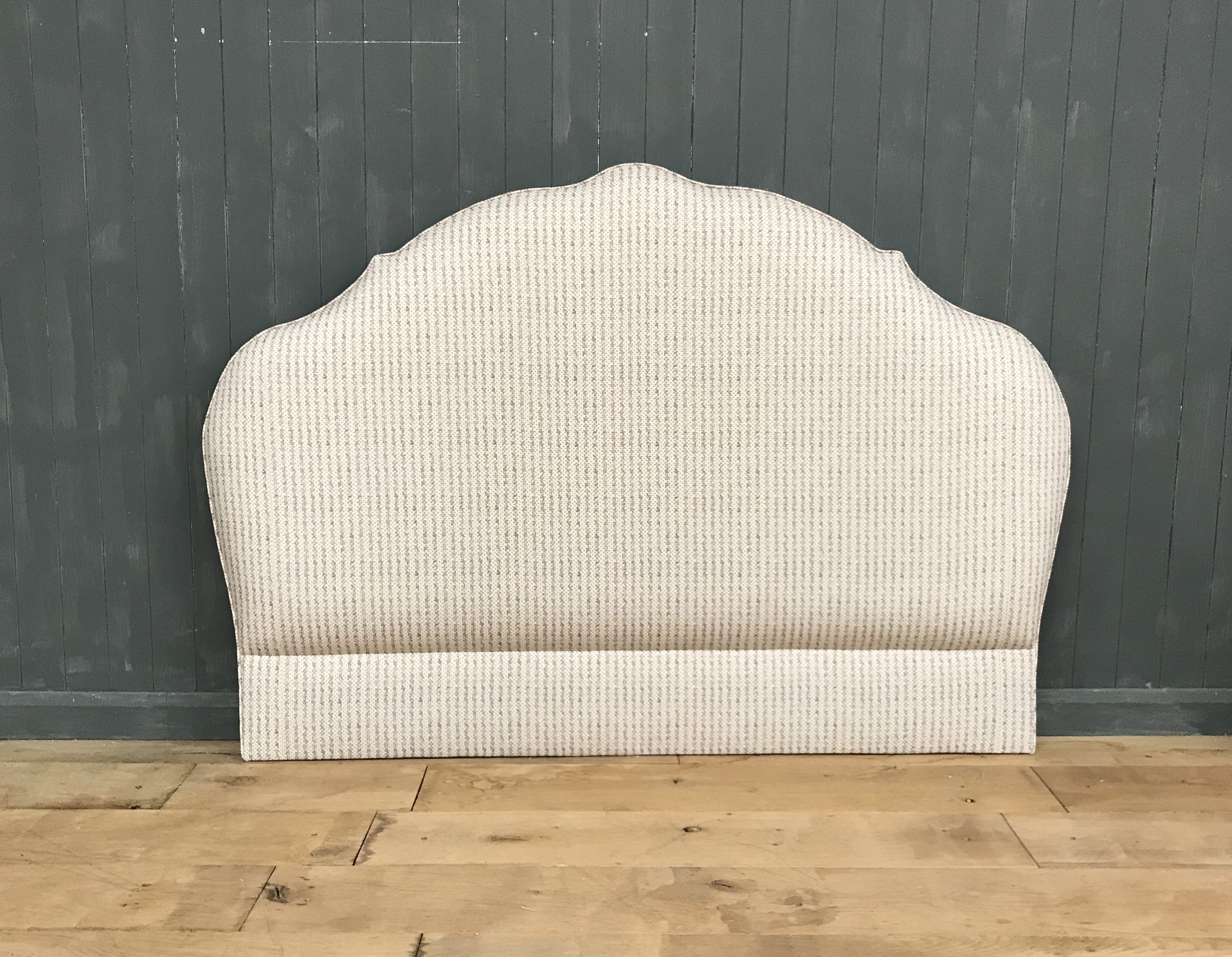 Bespoke Upholstered Headboard - self piped