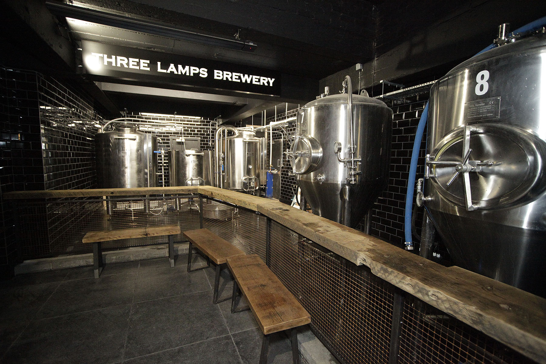 Brewery - Our on-site brewery is located on the same floor as the Craft Beer Bar, often playing live music. You can therefore taste great beer while listening to your favourite bands.