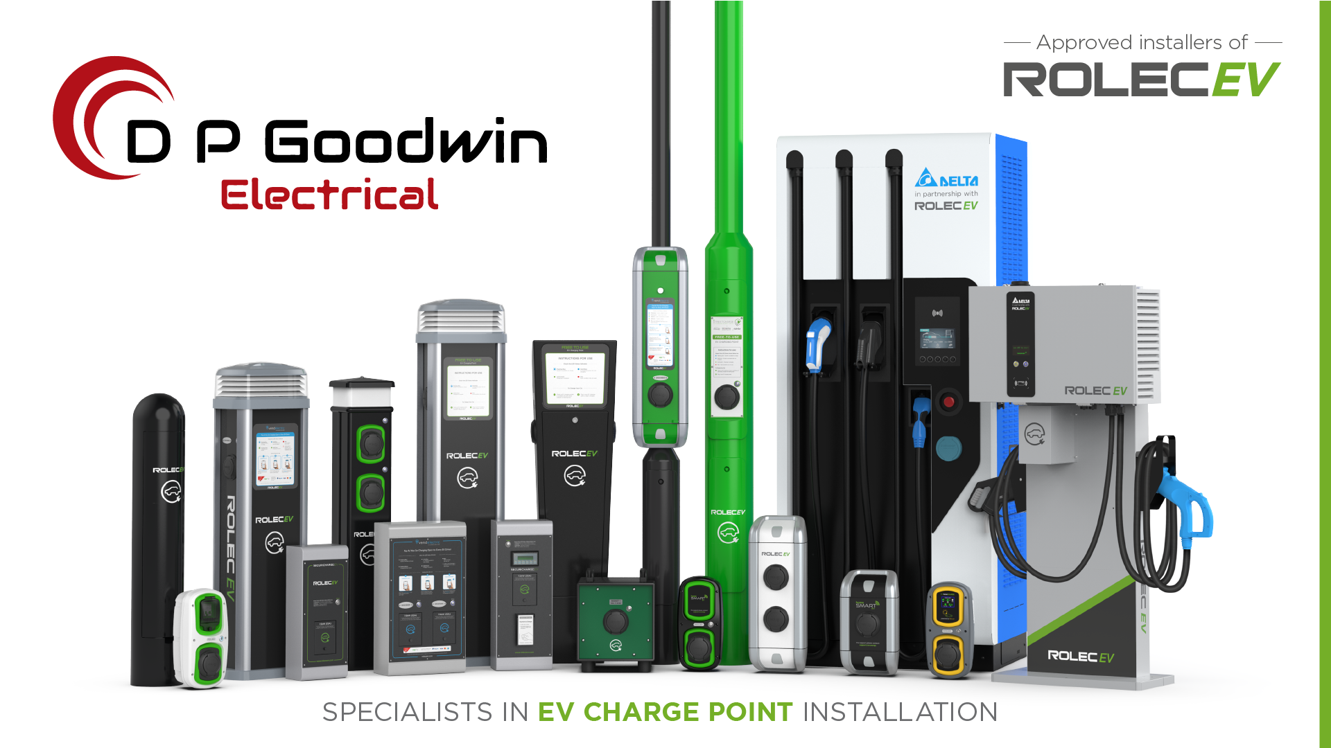 DP Goodwin Group - Electrical - Rolec Charge Point Approved Installer - Social Media Graphic.png