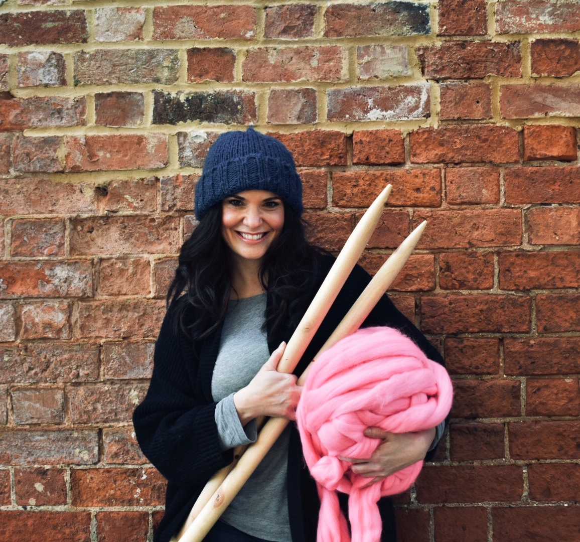 Bespoke By The Chunky Needle - Select your size, colour and stitch and The Chunky Needle will produce your custom made Chunky blanket, cushion or fashion accessory. Choose from over 40 vibrant hues, 5 unique stitches and 5 size options, design a custom chunky knit product and The Chunky Needle will do the rest!