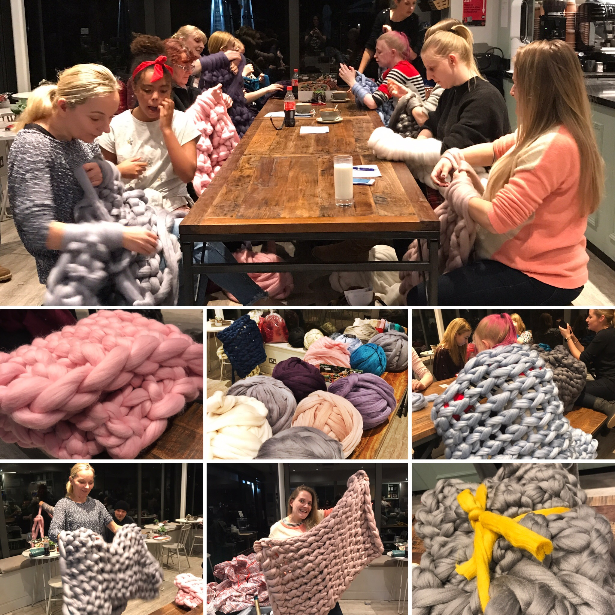 The Resolute Cafe, Marlow, BUCKS  The next arm knit at Resolute will be Saturday Feb 23rd 4pm. Book  HERE