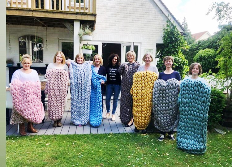 Arm Knit Workshop June 2019, Henley-on-Thames, Oxfordshire