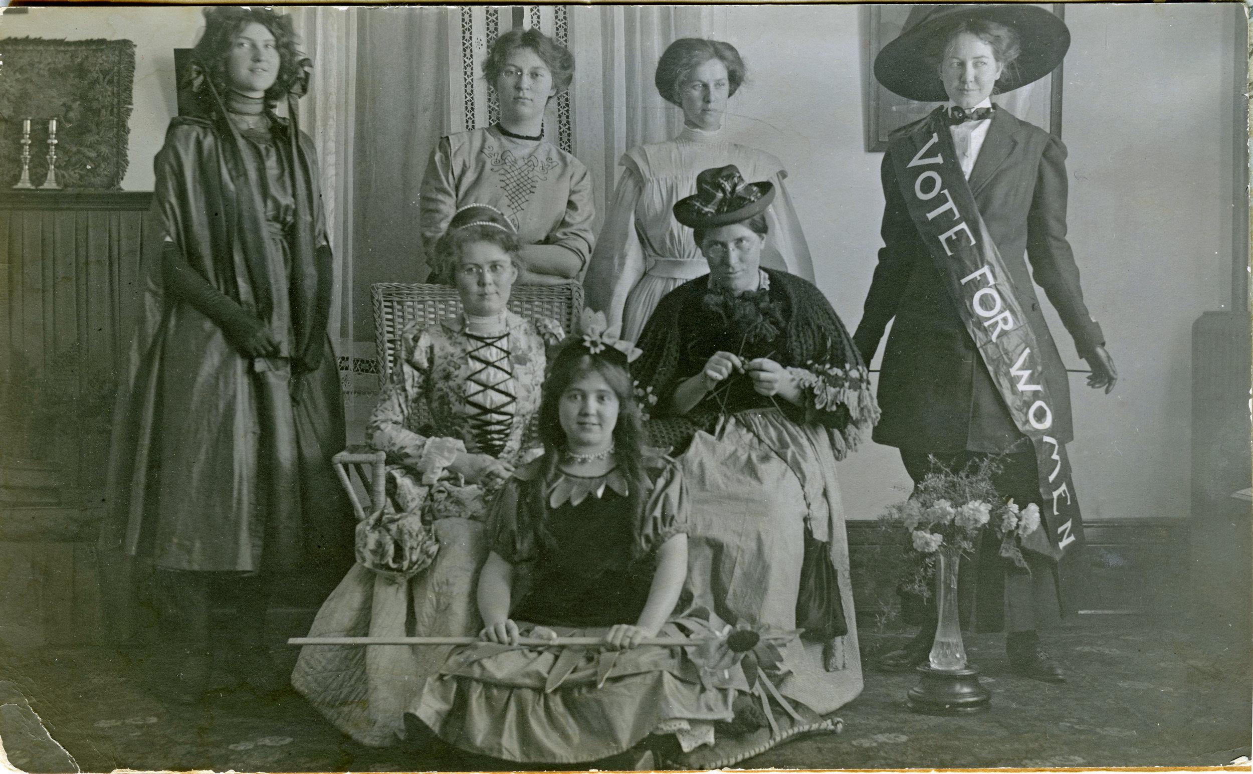 Photo Credit: Clark Hall Women's Residence, Brandon College, c 1910. McKee Archives, Brandon University