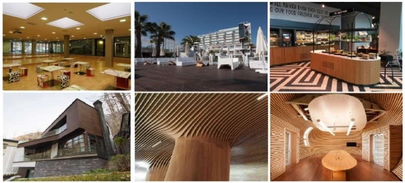 Takket være sin høje slidstyrke er bambus det ideelle miljøvenlige materiale til industrielle byggerier og boligbyggerier.