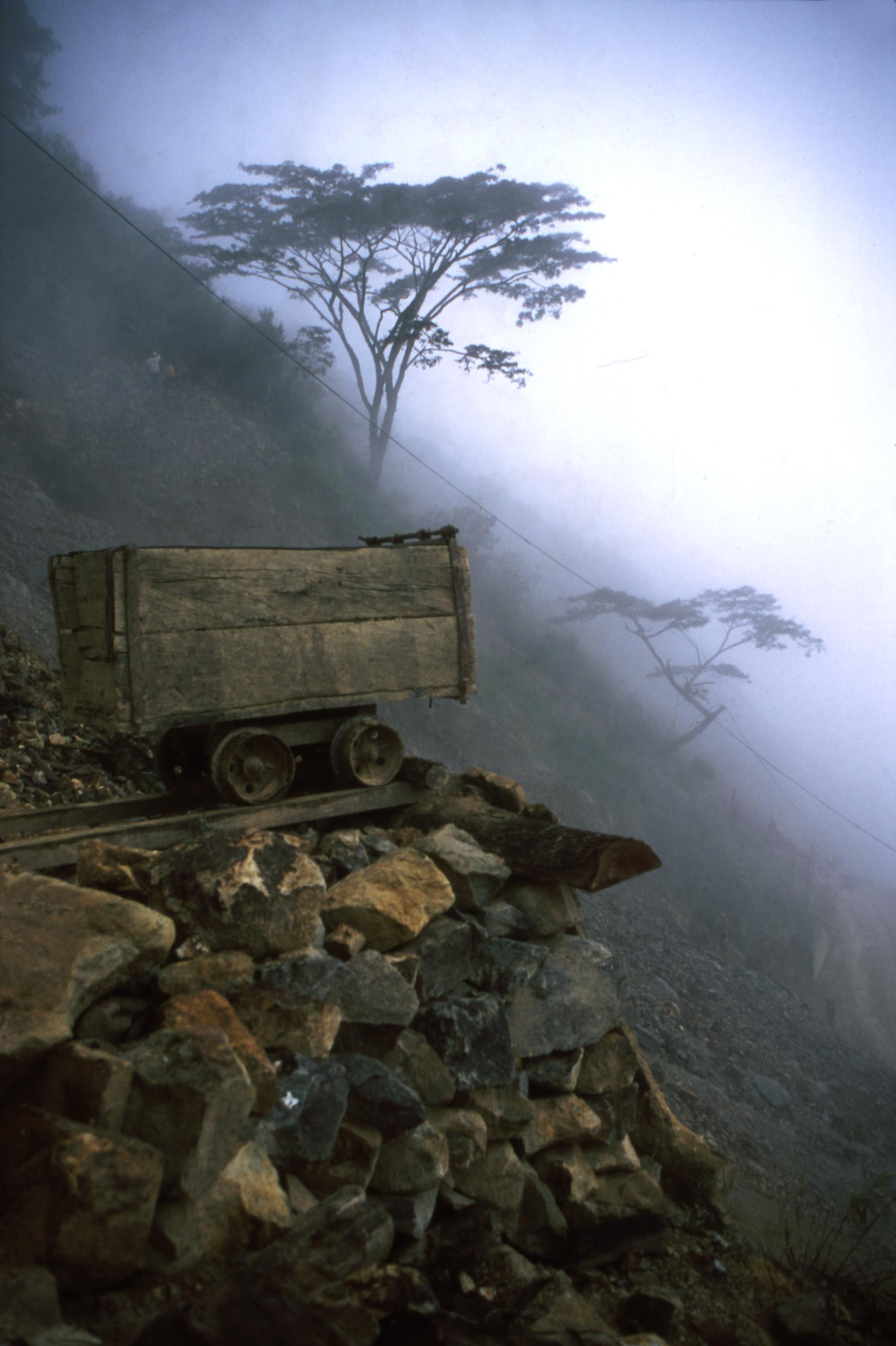 Mining in Marmato
