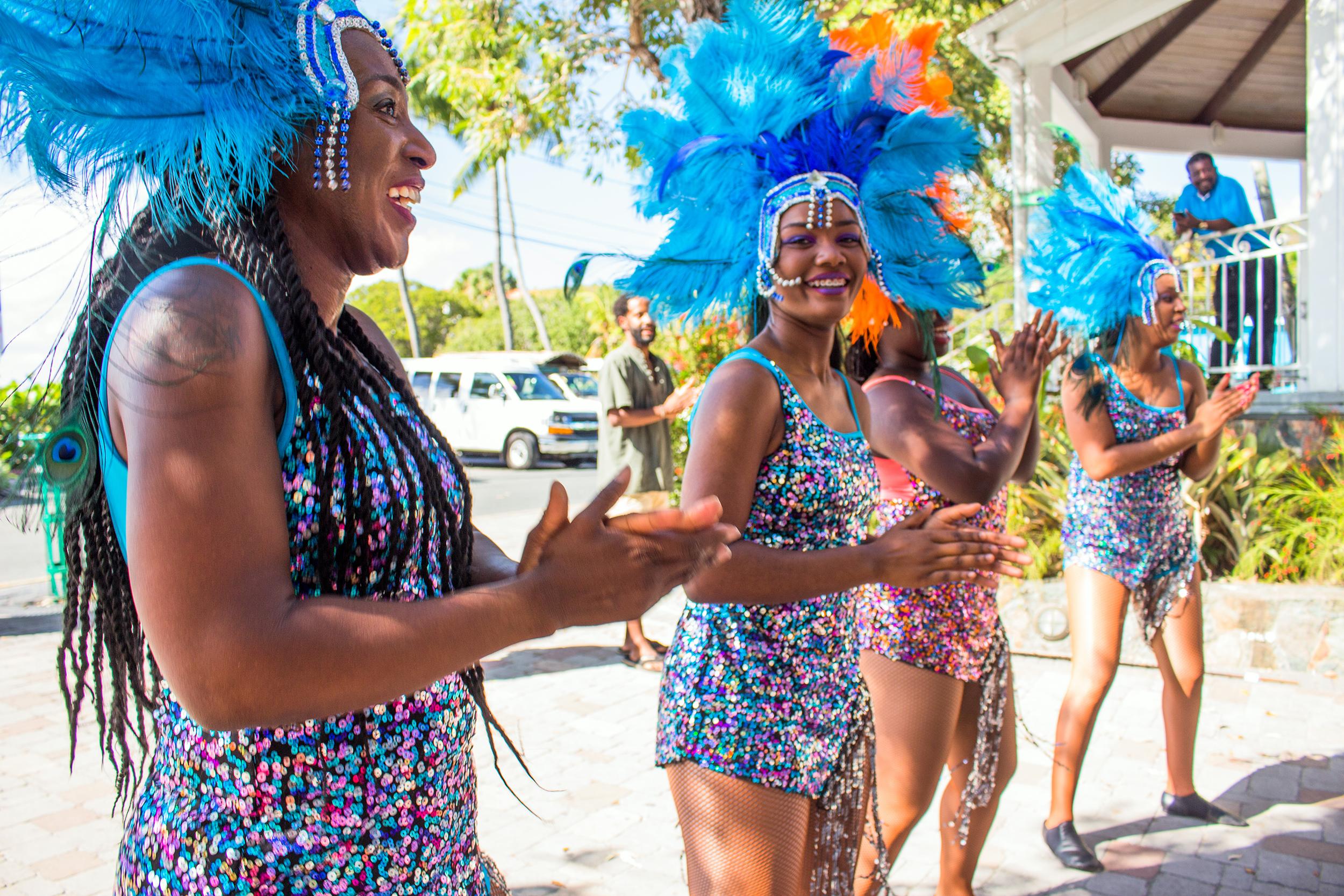 Caribbean Ritual Dancers