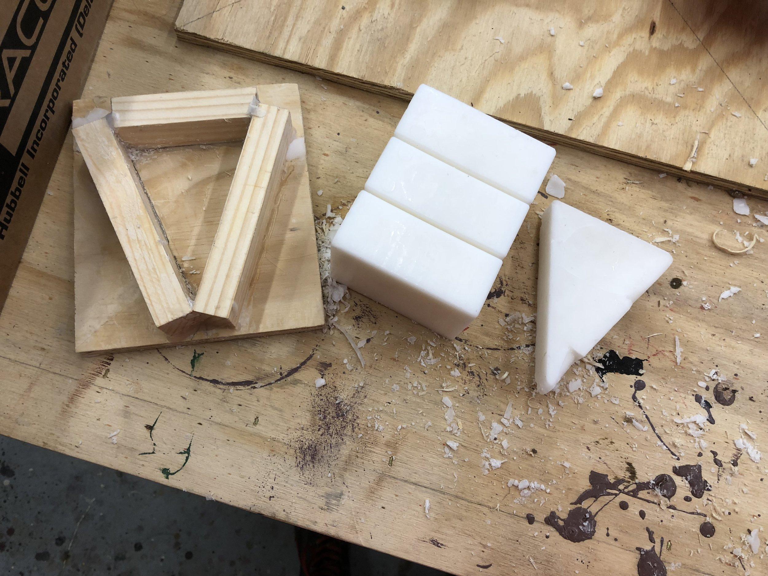 Craft Wax and Wax Mold