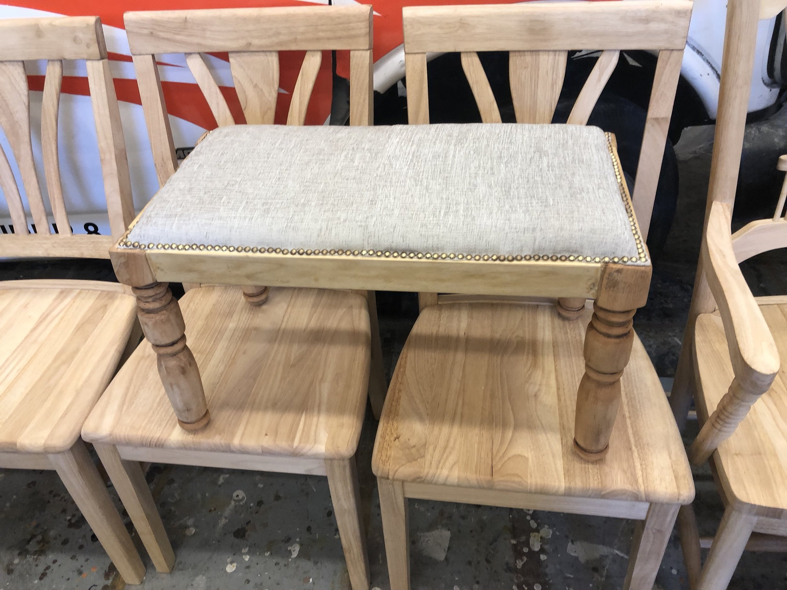 Finished Stool