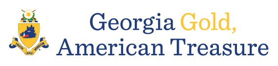 Georgia Gold, American Treasure logo
