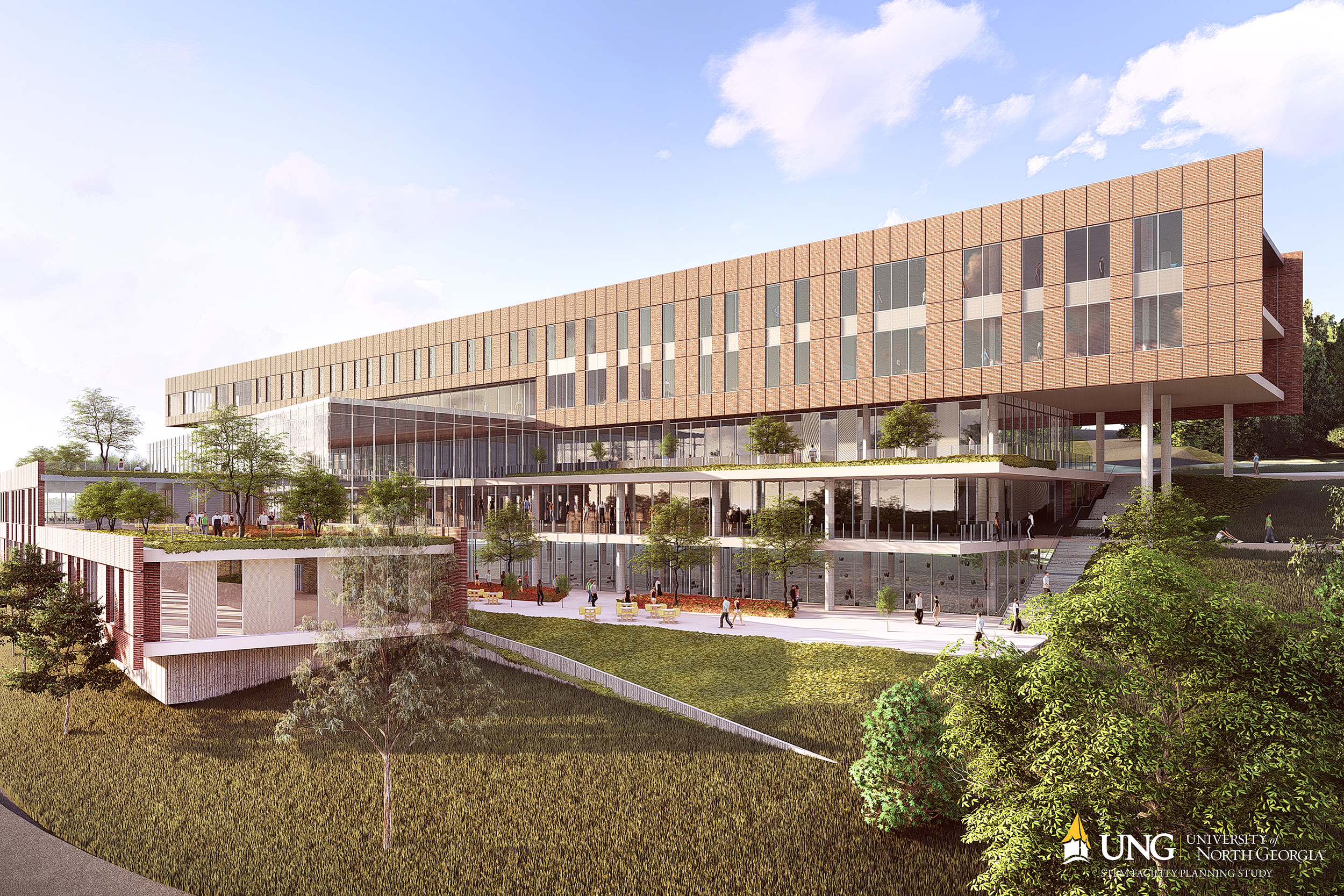 STEM CAMPAIGN - Help UNG raise $40 million to build a state-of-the-art STEM building on the Dahlonega campus and advance transdisciplinary STEM curriculum.