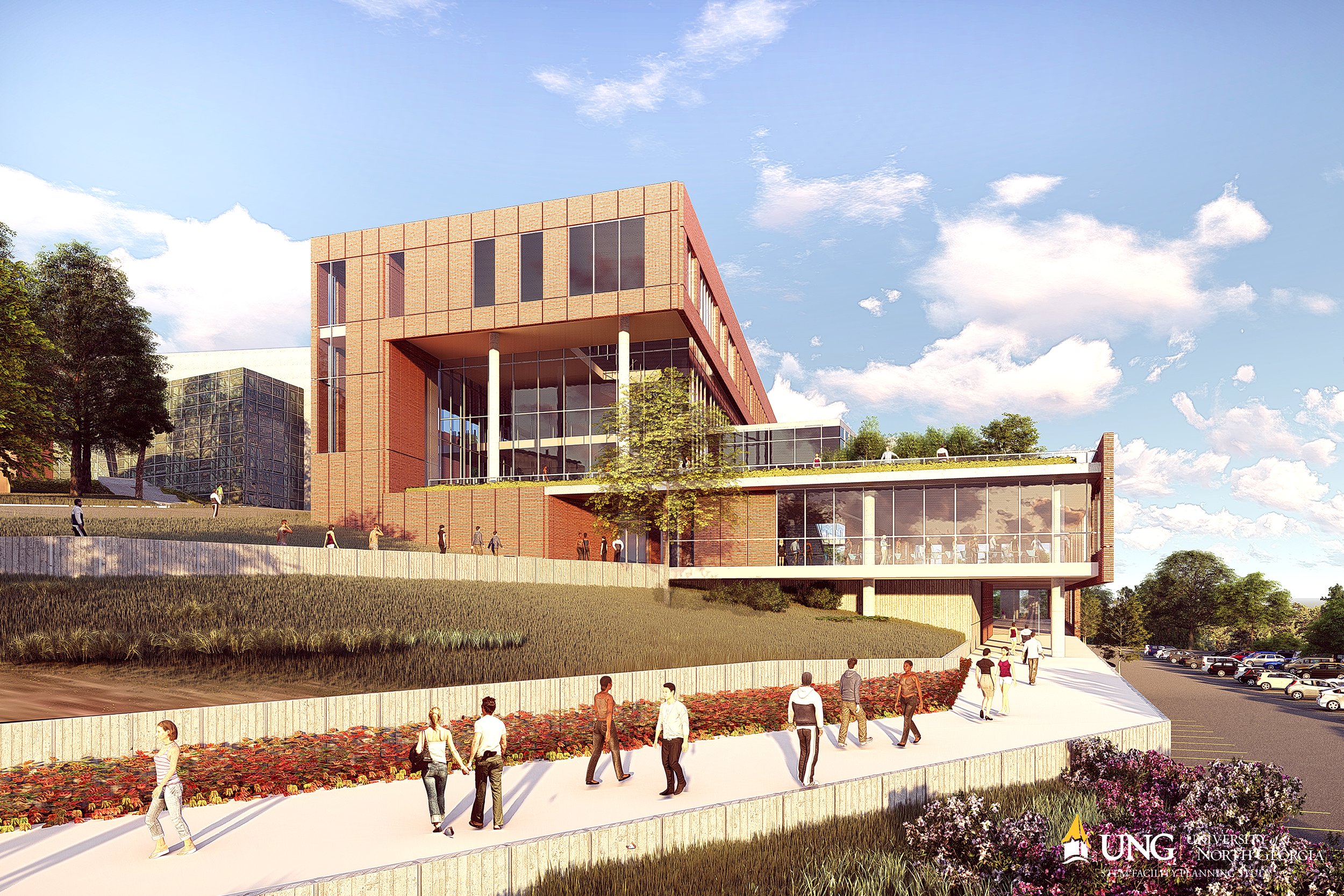 STEM CAMPAIGN - Help UNG raise $40 million to build a state-of-the-art STEM building on the Dahlonega campus and advance transdisciplinary STEM curriculum. View UNG's plans for our college's future.