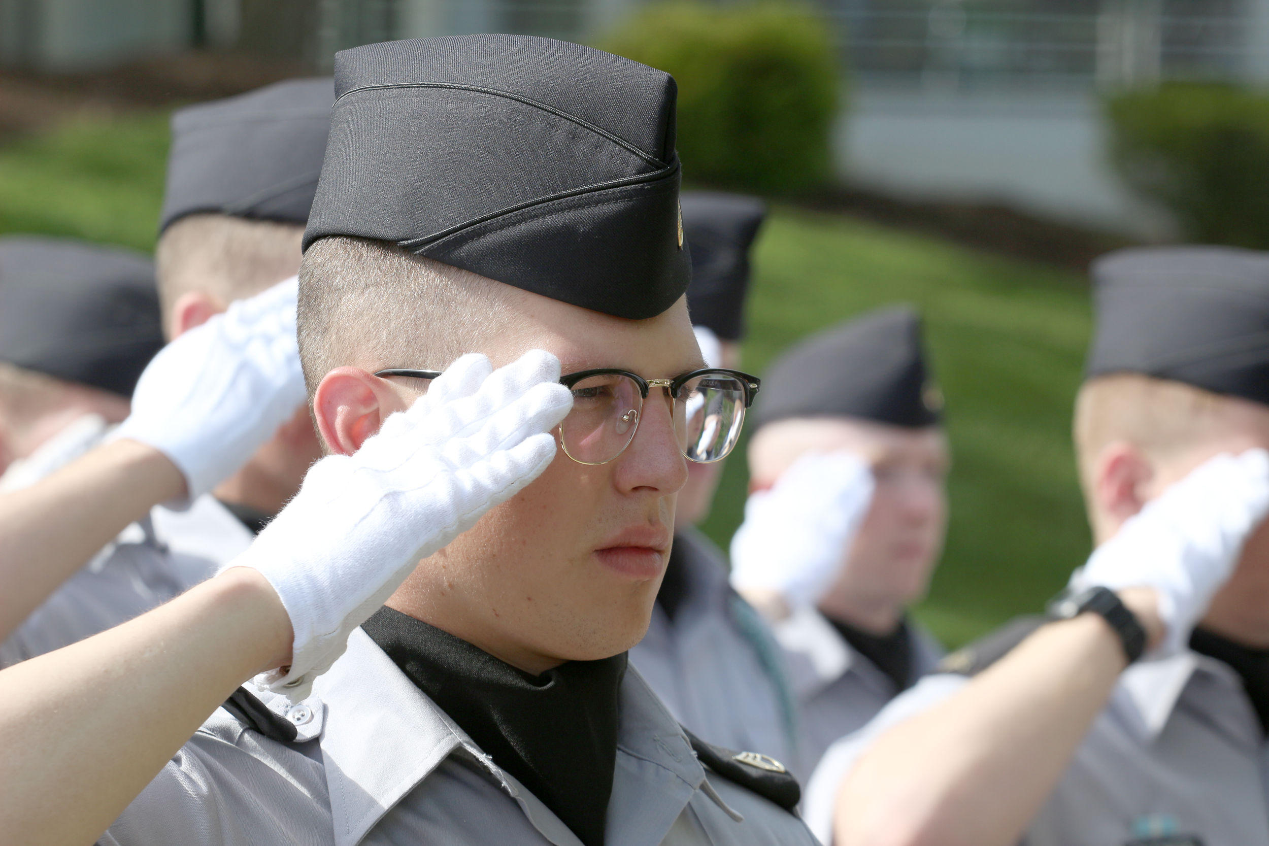 Eagle Fund endowed scholarship - Support deserving cadets of high moral character who are pursuing a commission in the U.S. Armed Forces.