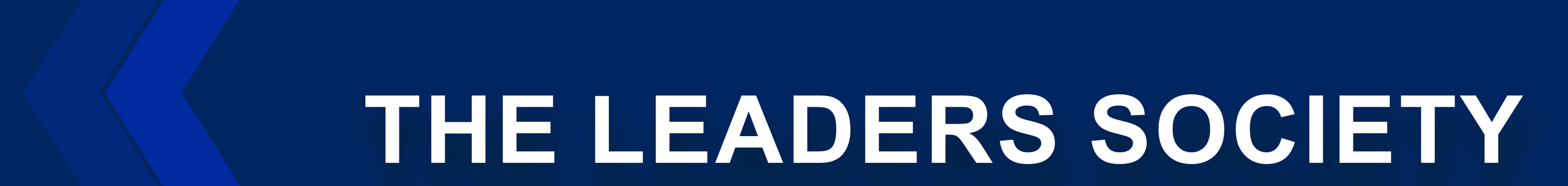 The Leaders Society page banner