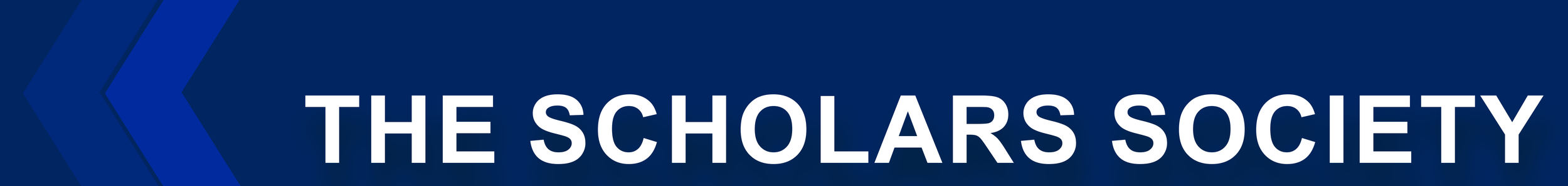The Scholars Society Page banner