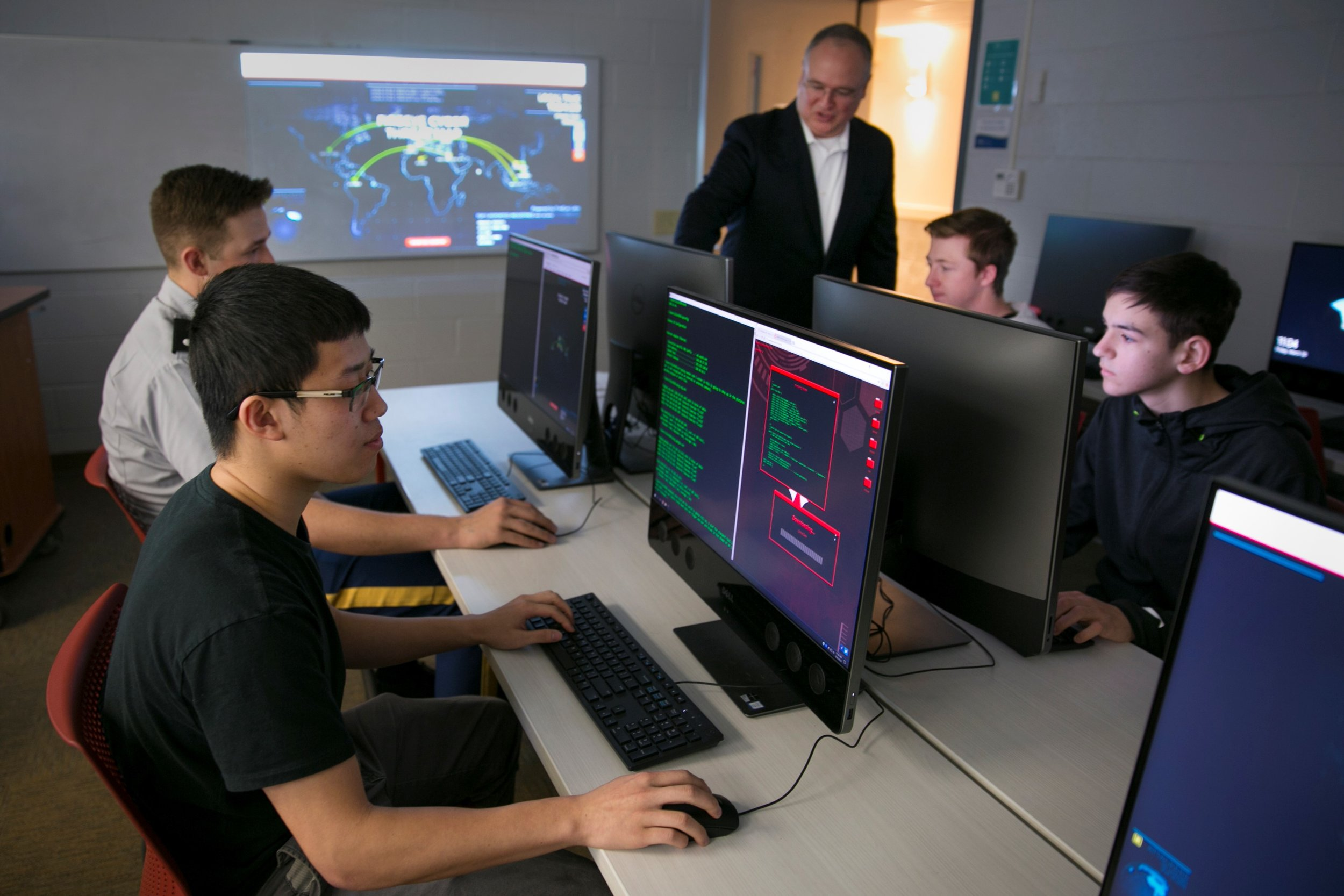 Center of cybersecurity for Mike Cottrell College of Business