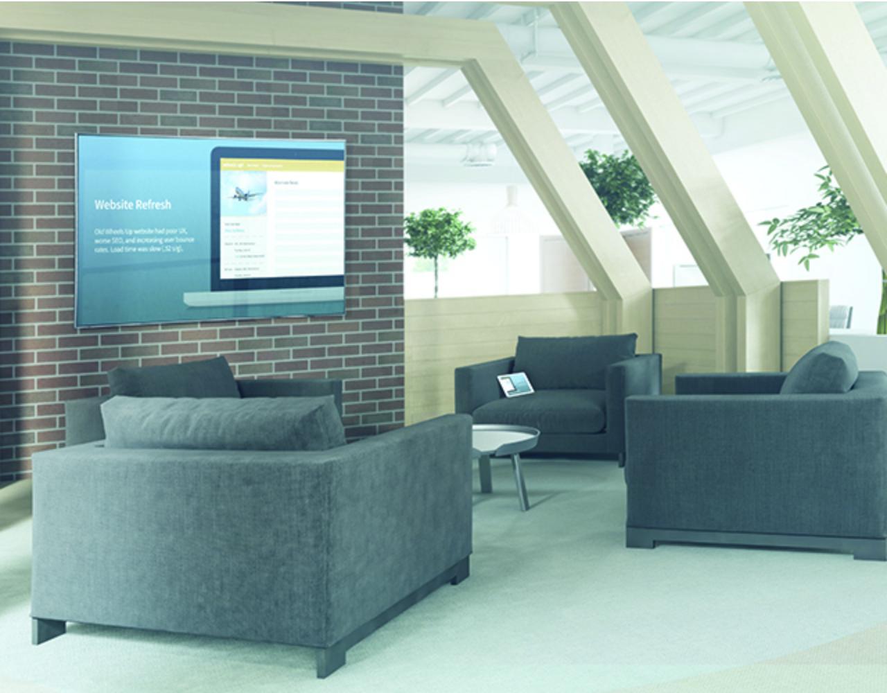 Open presentation space