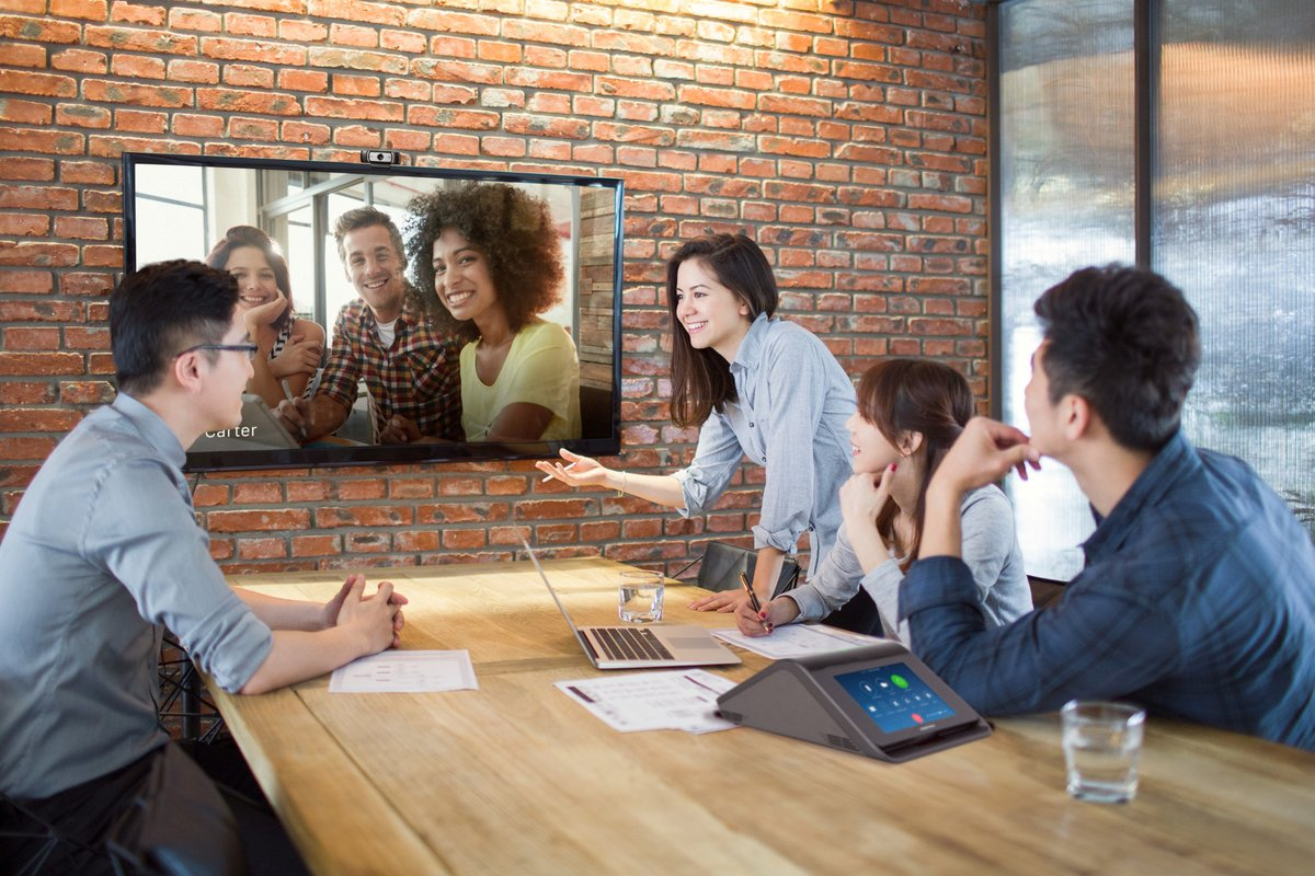 CRESTON ZOOM ROOMS - Zoom software-based video conferencing paired with world-class Crestron AV presentation, room scheduling, and control.