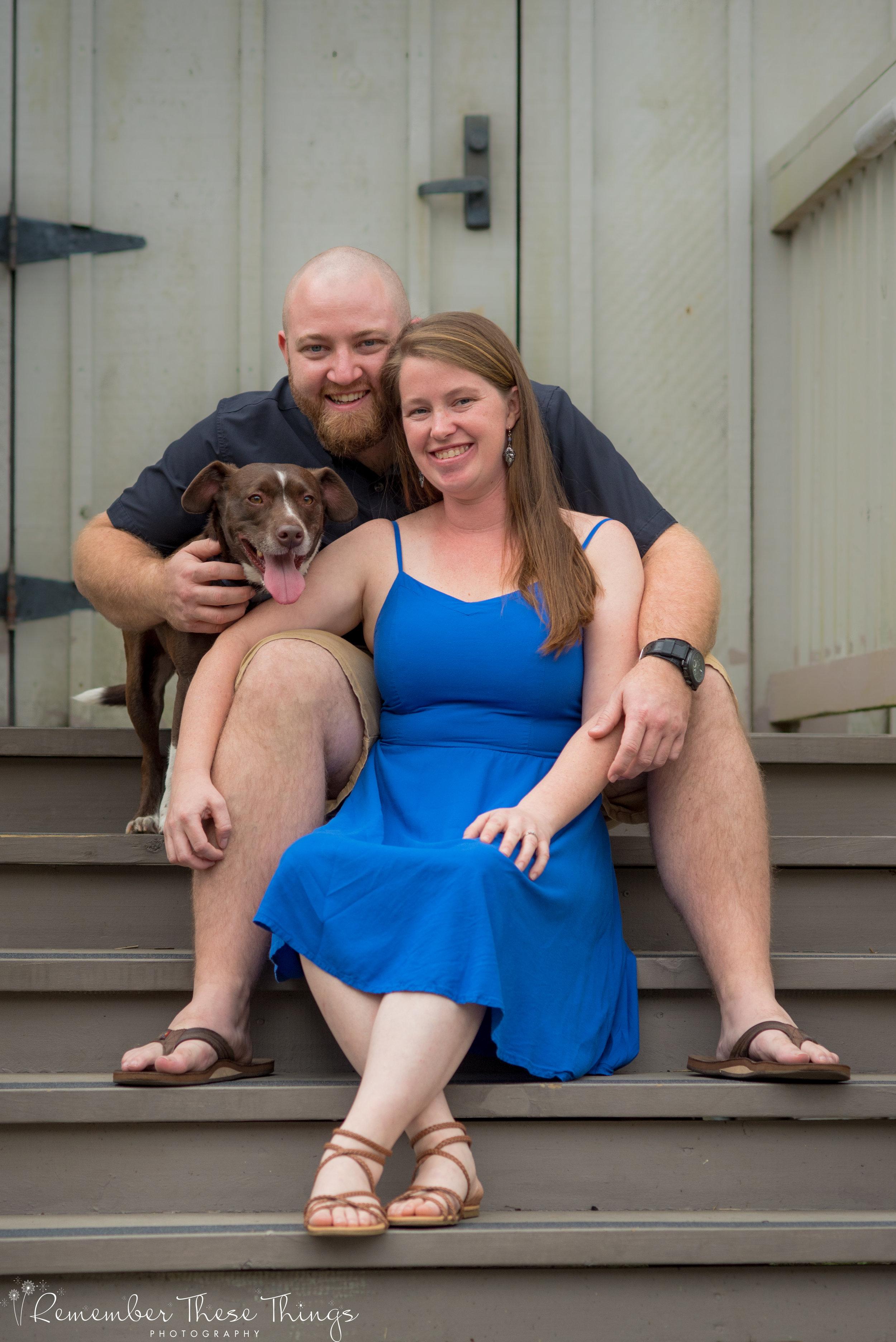 CAra & Chris engagement jacksonville fl