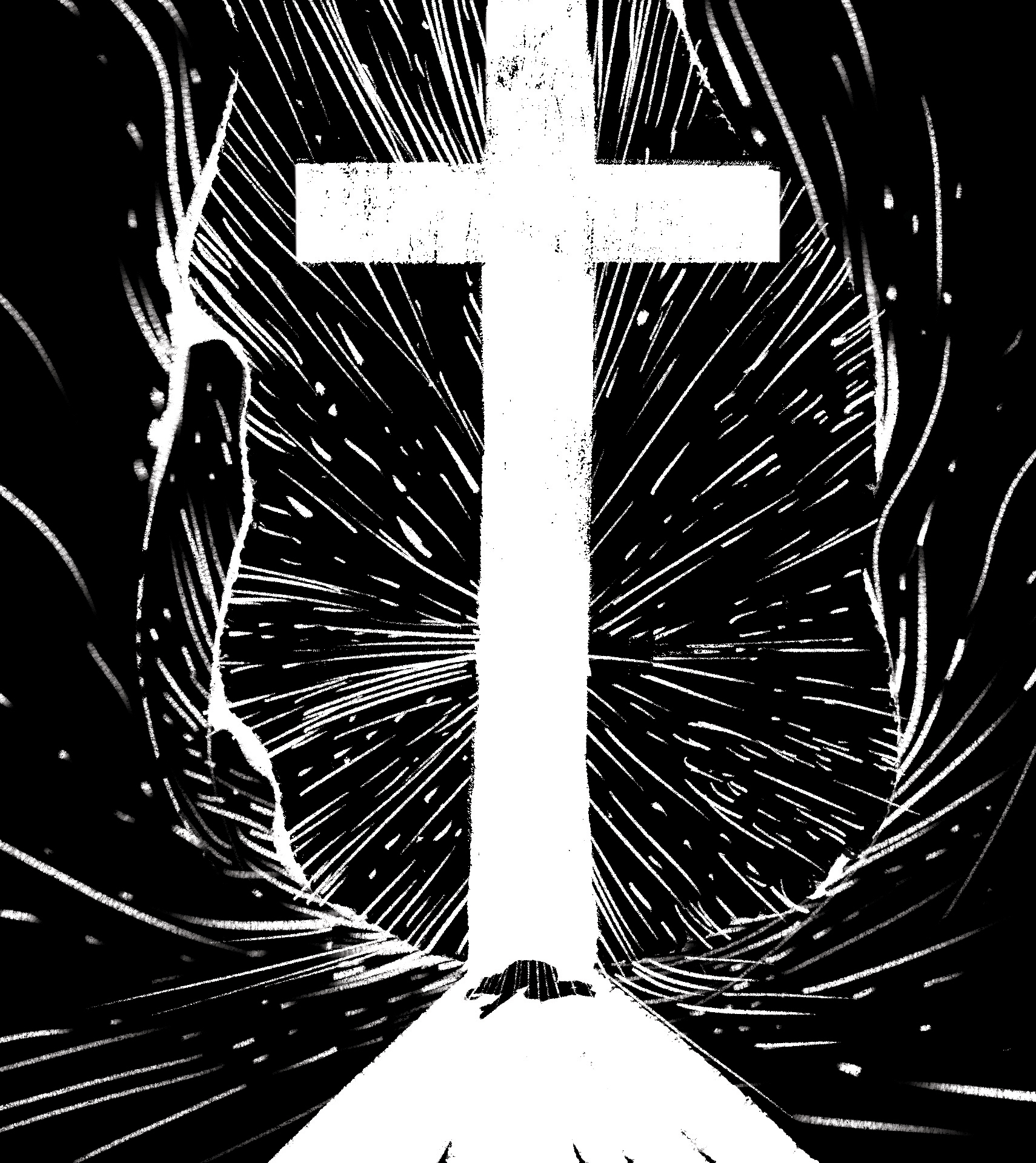 The Cross is My Triumph    Digital Painting