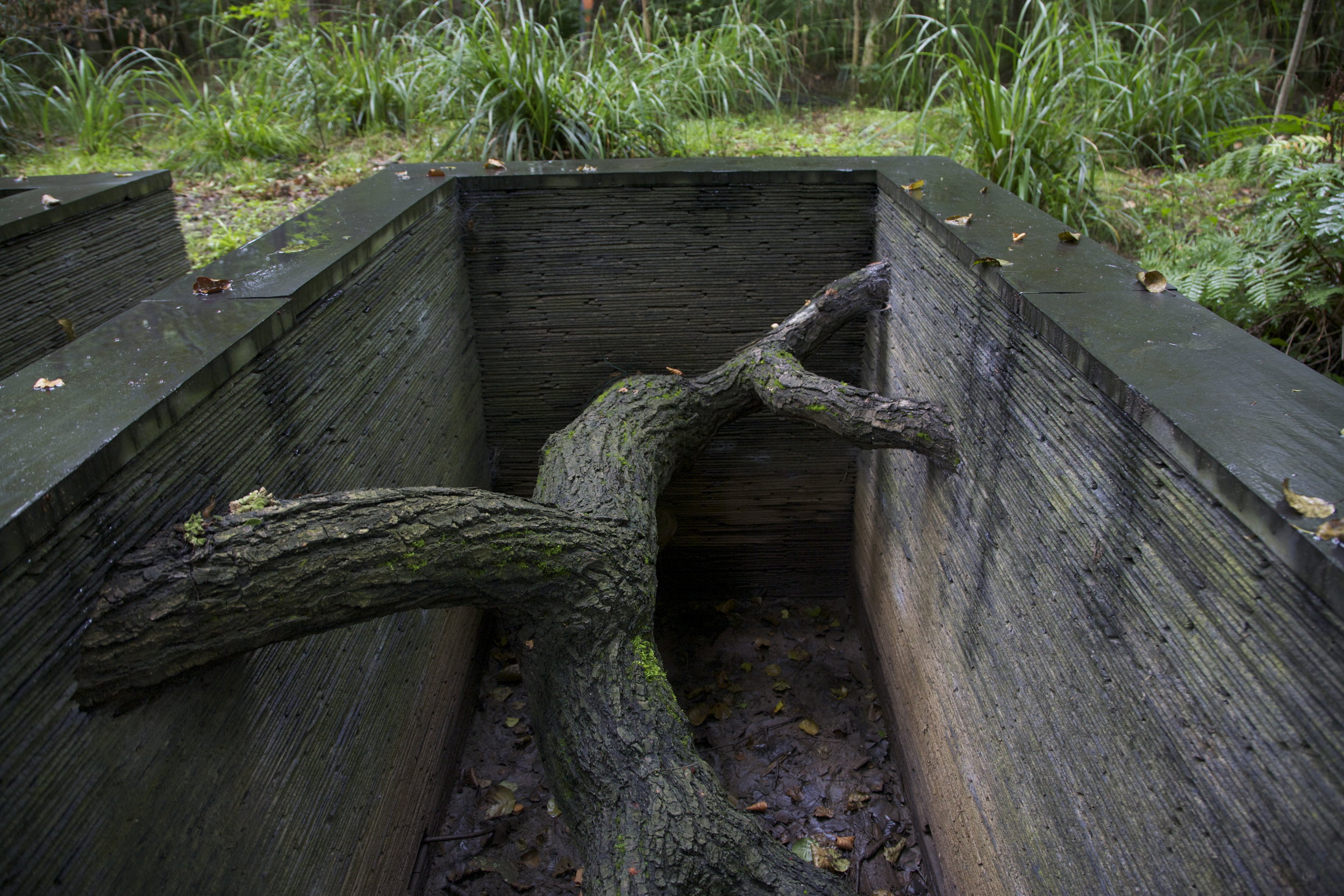 Andy Goldsworthy,  Refuges , 2007 © 2018 Andy Goldsworthy.Collection La Petite Escalère. Photo ©MartineFougeron.