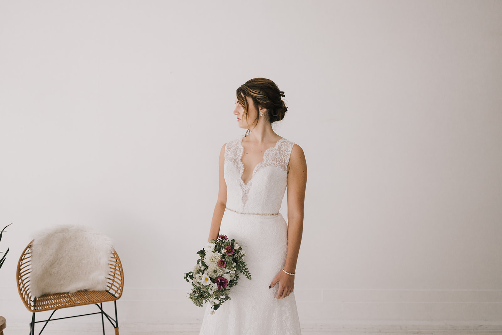 Photography:  Alyssa Barletter Photography  // Gown:  Lis Simon Bridal