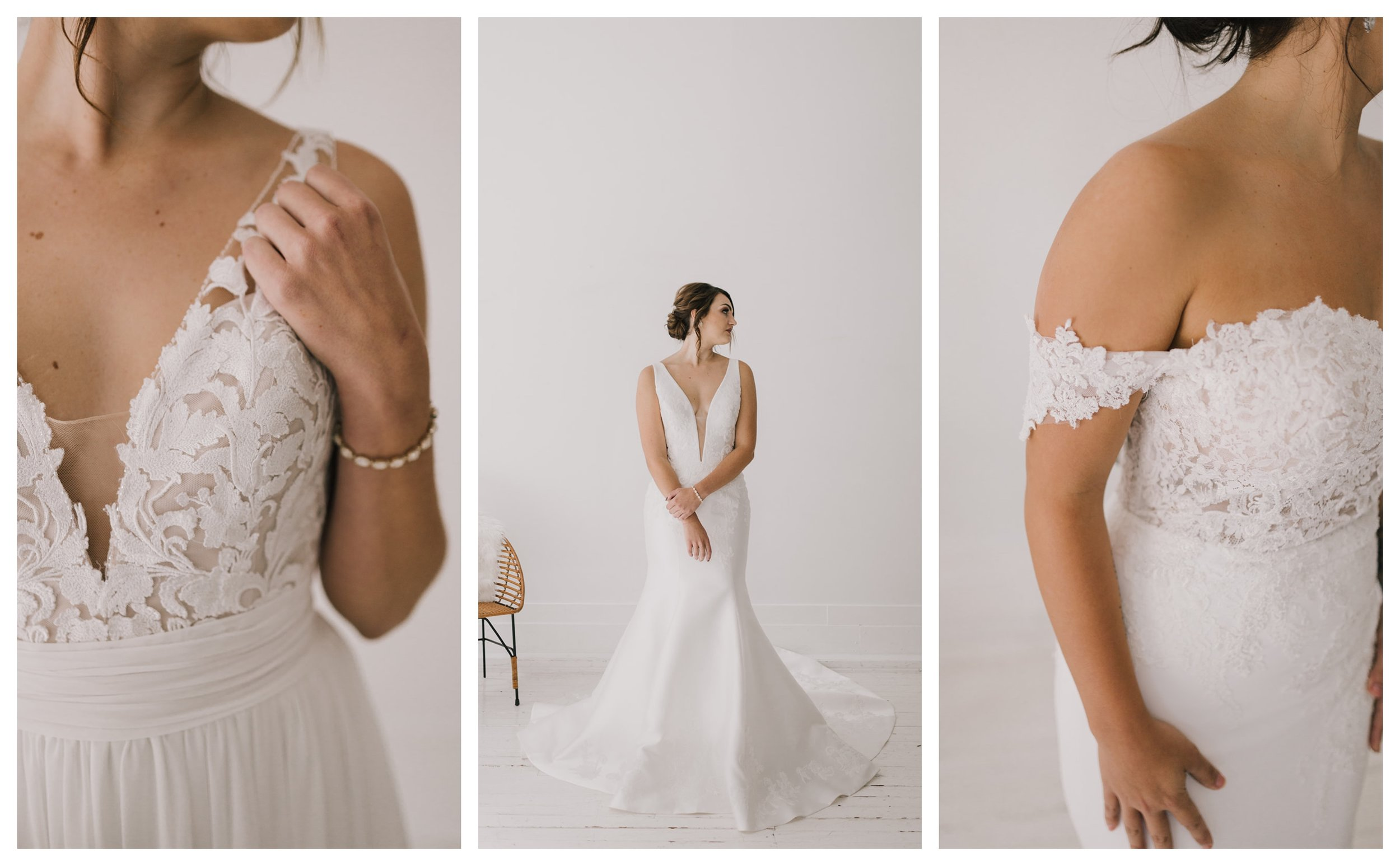 Photography:  Alyssa Barletter Photography  // Gowns:  La Sposa  +  Blue by Enzoani