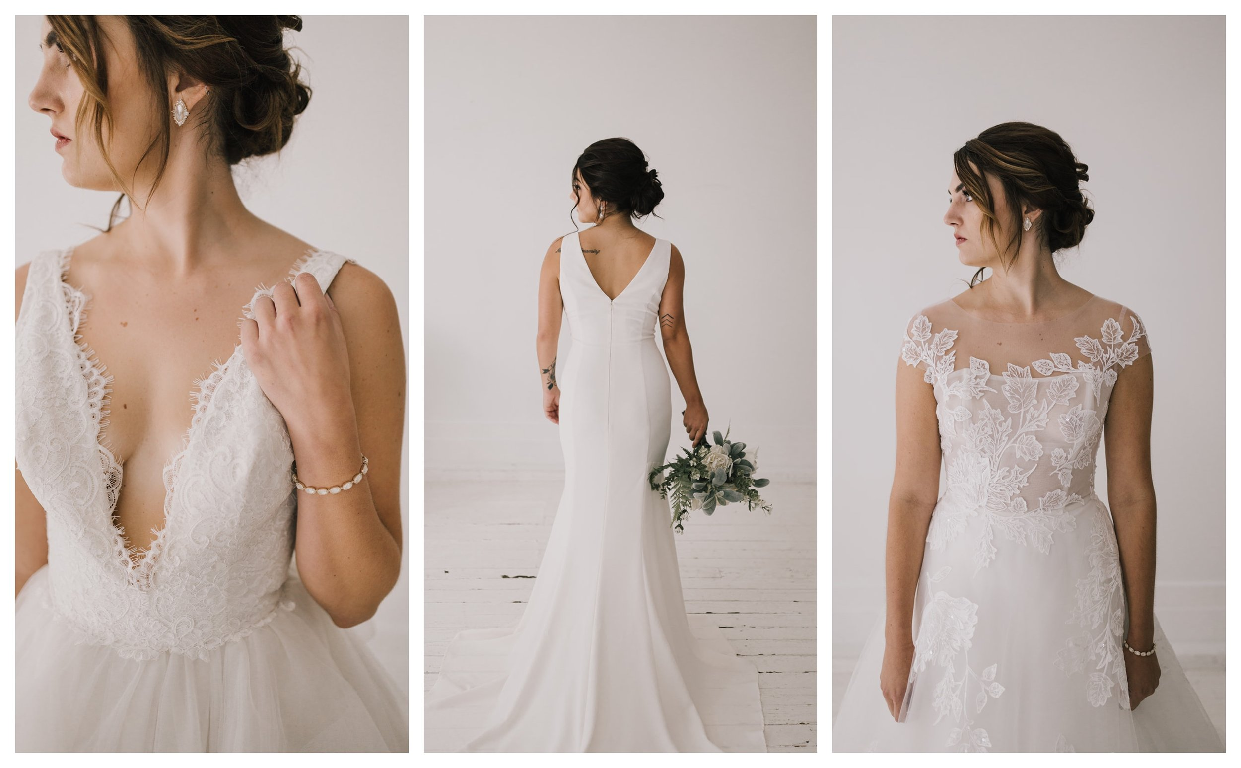 Photography:  Alyssa Barletter Photography  // Gowns:  Lis Simon  + Nouvelle Amsale
