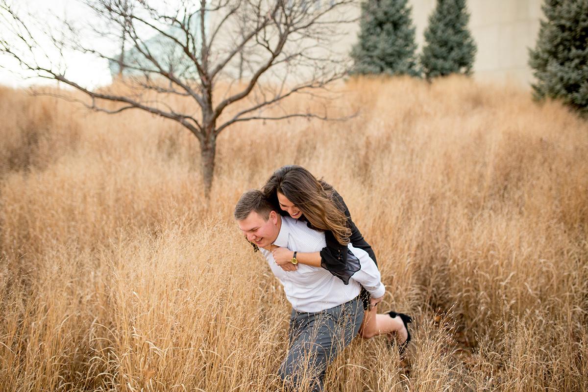 engagement photos in Kansas City