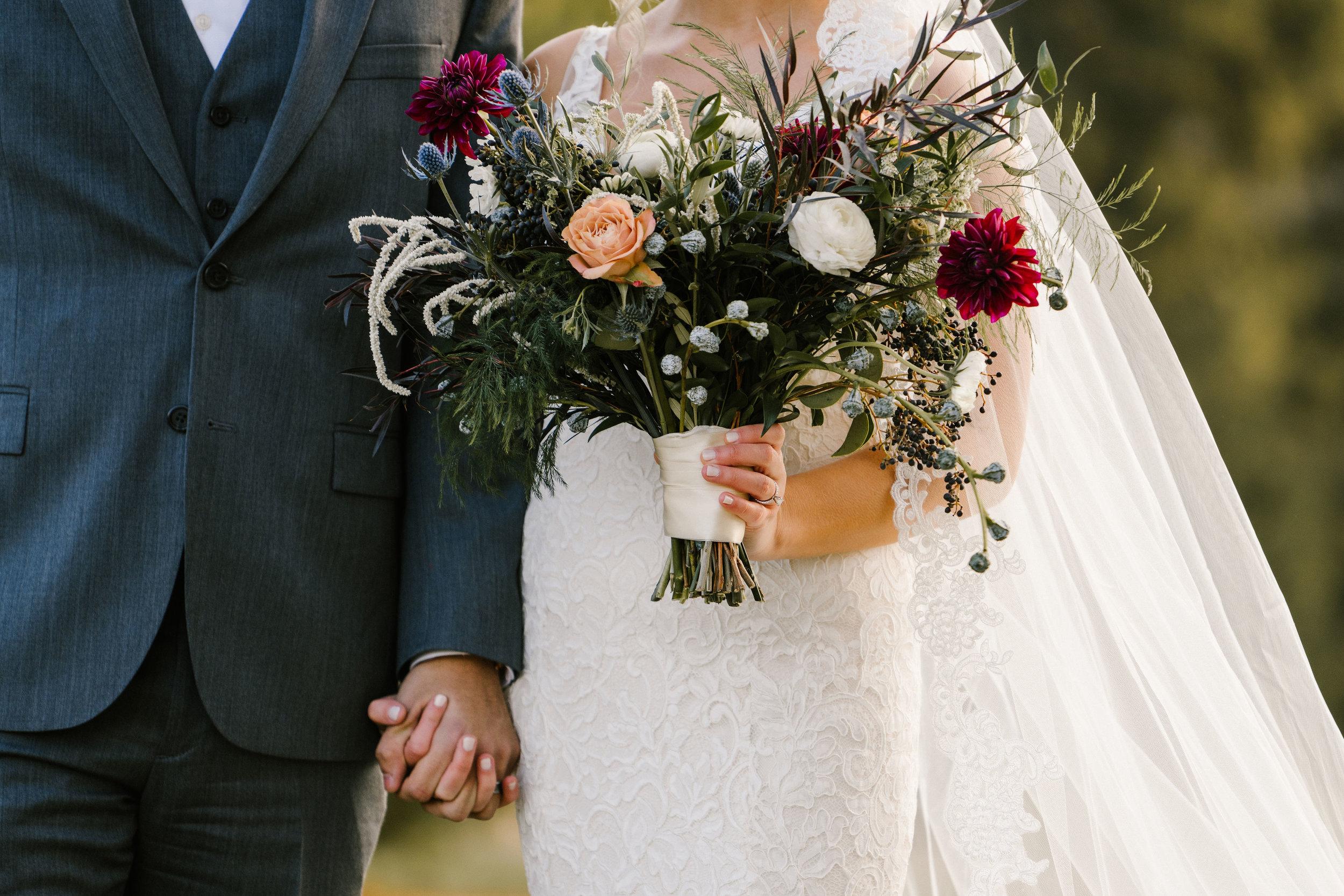 Bridal Bouquet_Cottage Rose