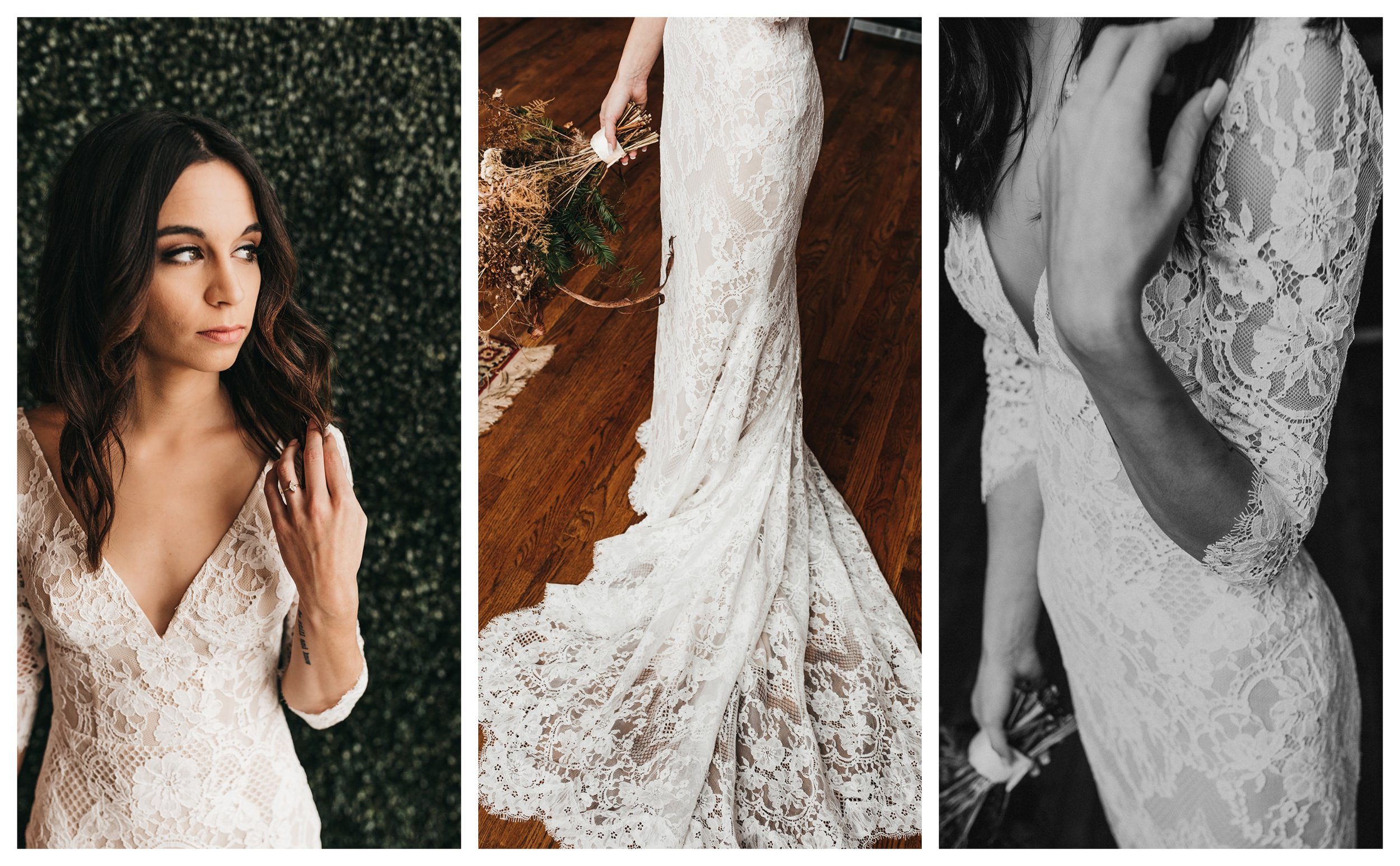 Real Bride Saryn Something White Bridal