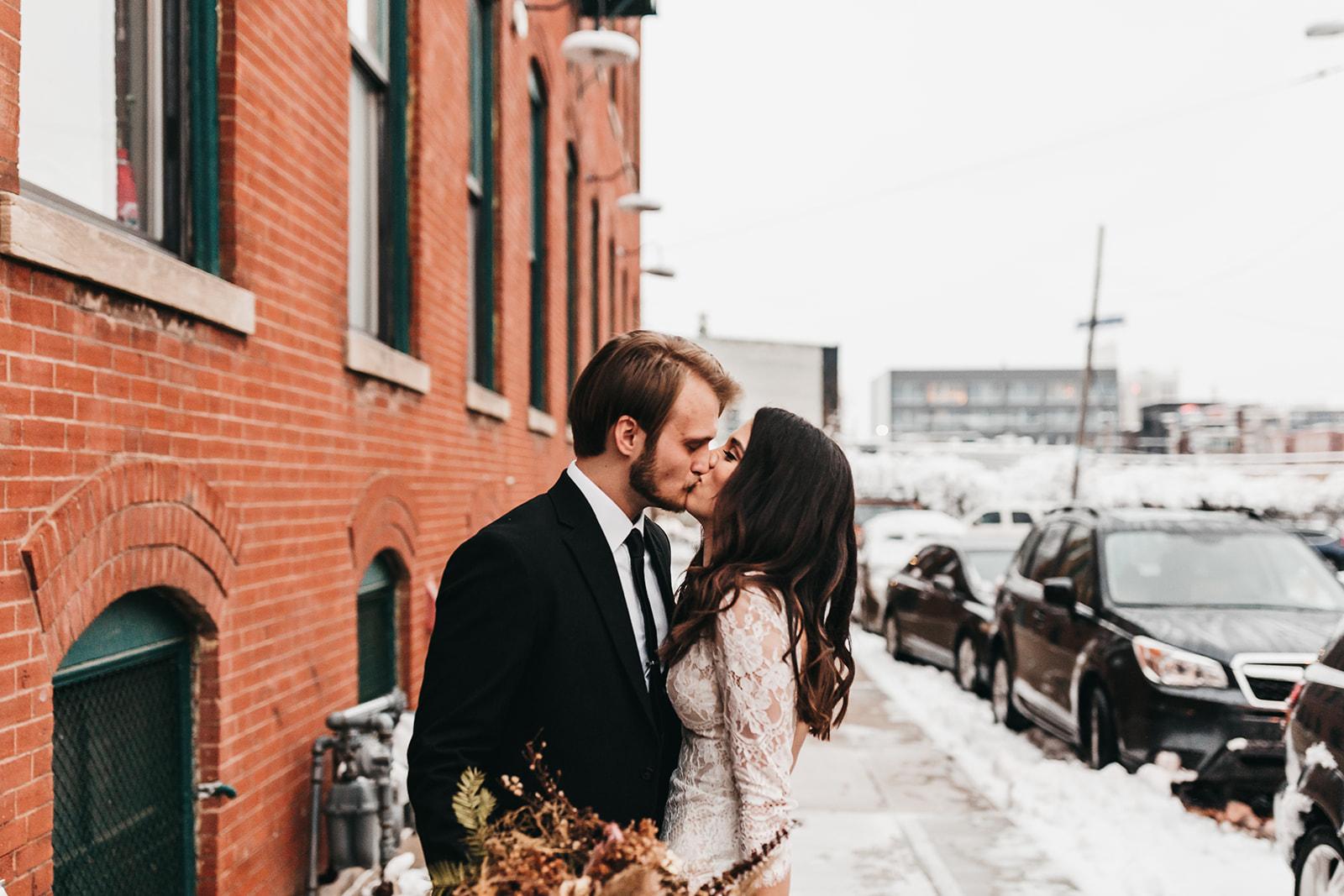 Downtown Kansas City Wedding