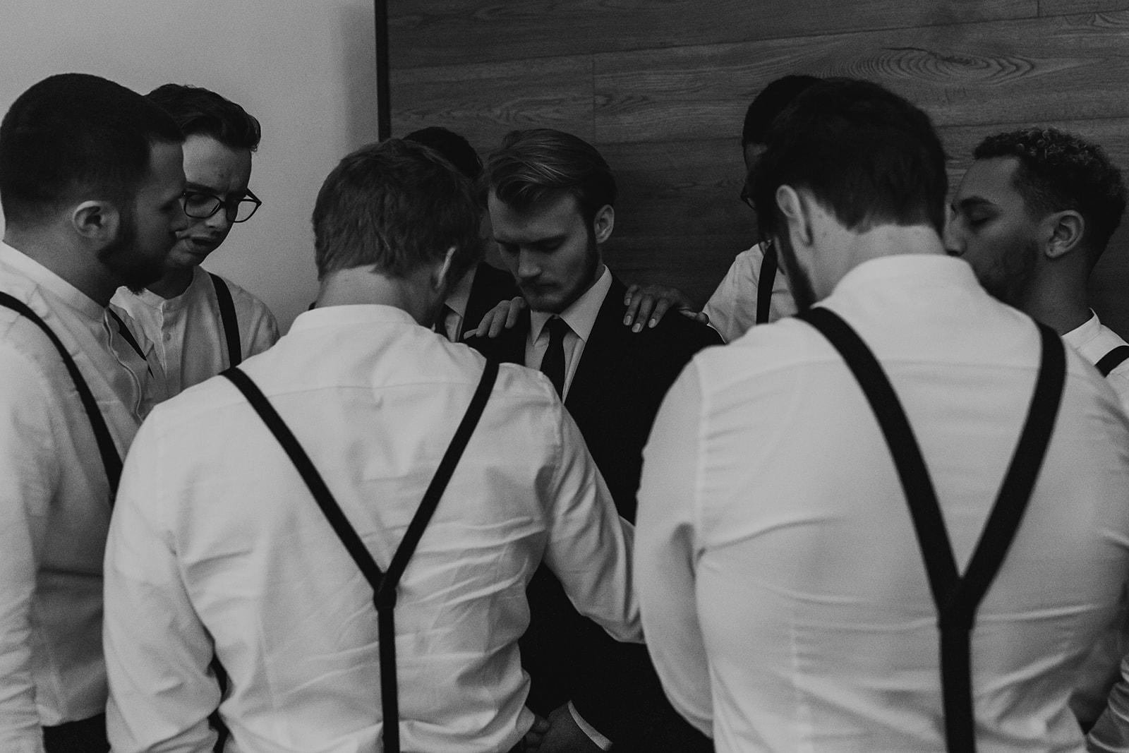 Black and White Wedding Photography
