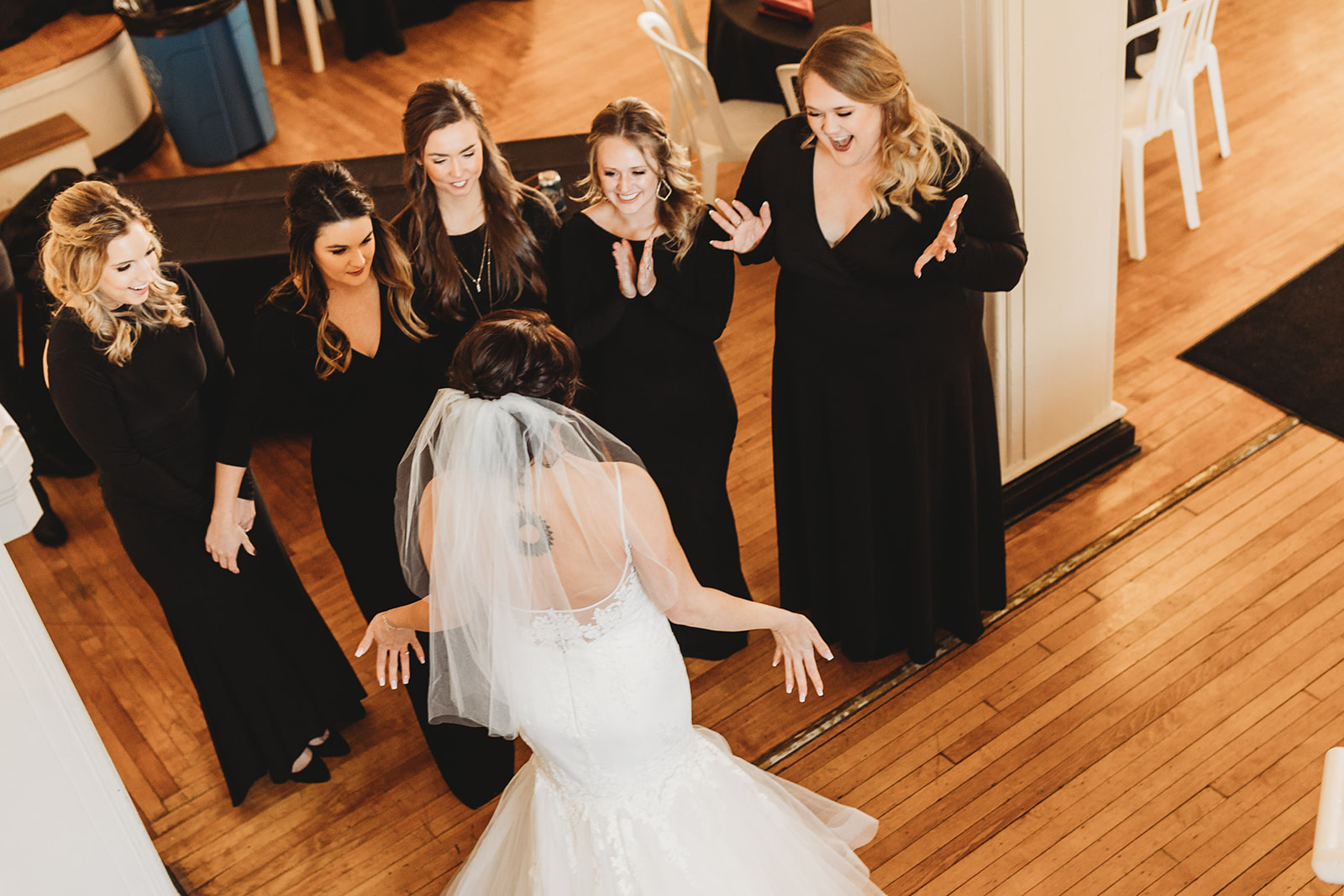 Bridesmaids First Look Photography