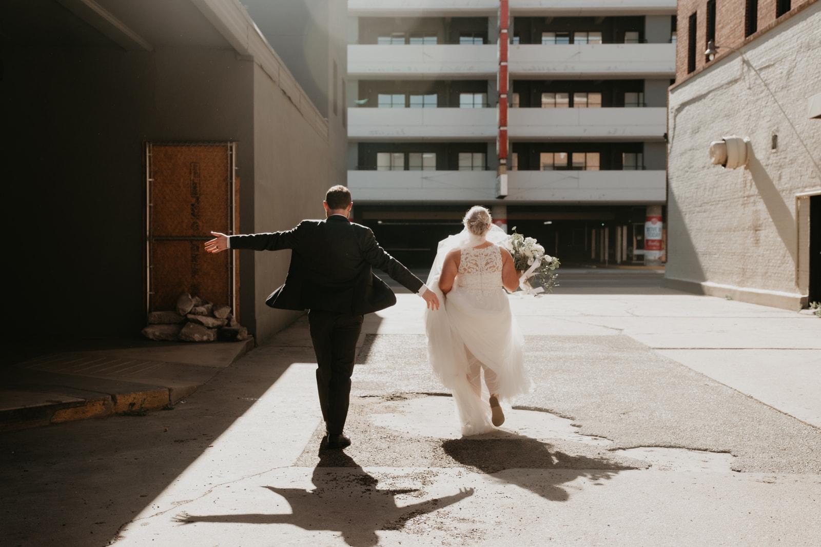 Just Married Wichita Kansas