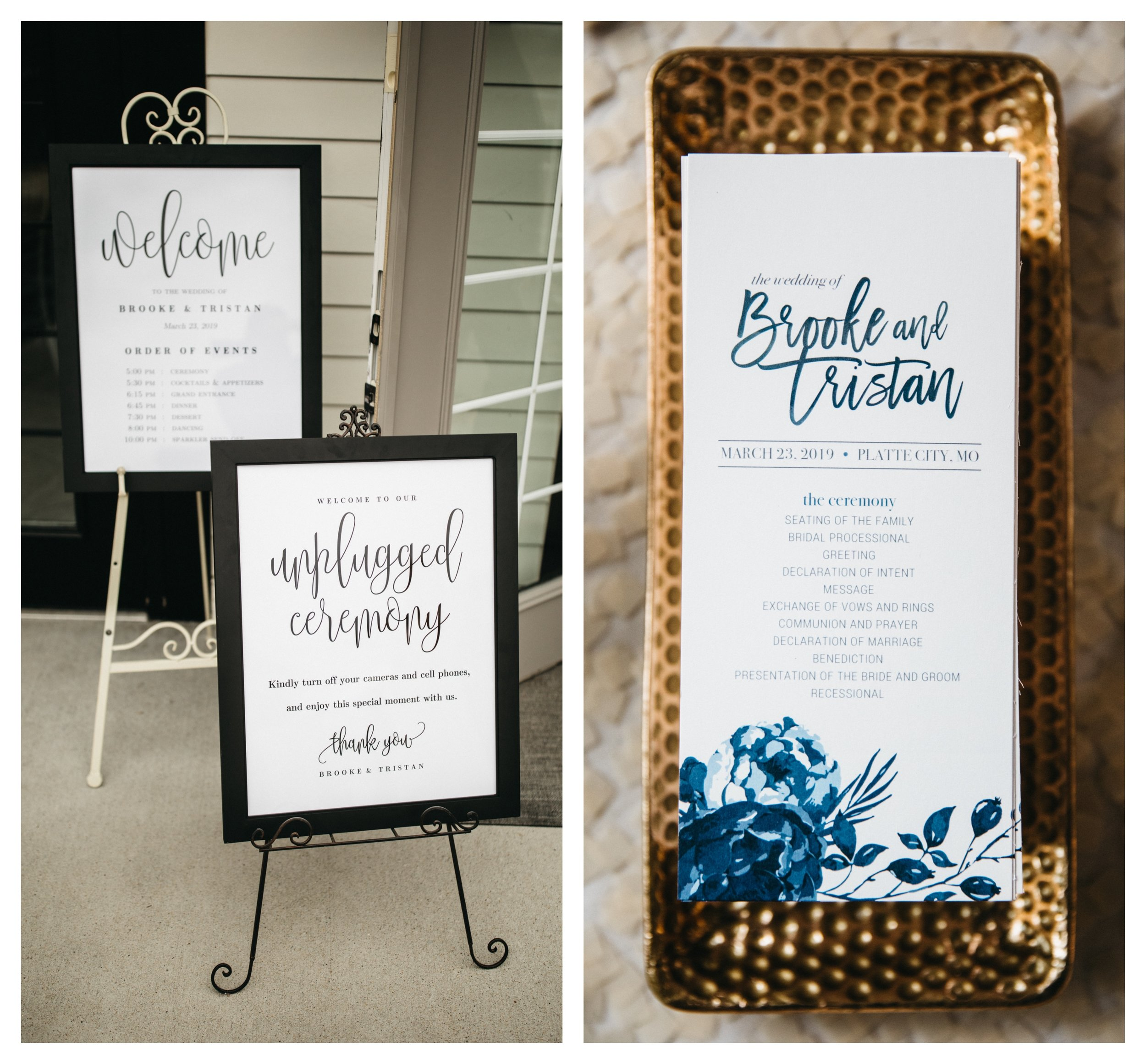 Wedding Signage_Kansas City Bride