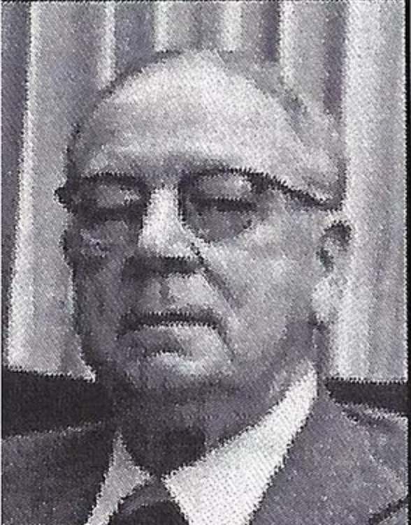 D. Holman Sigmon, 1979 Distinguished Person of the Year