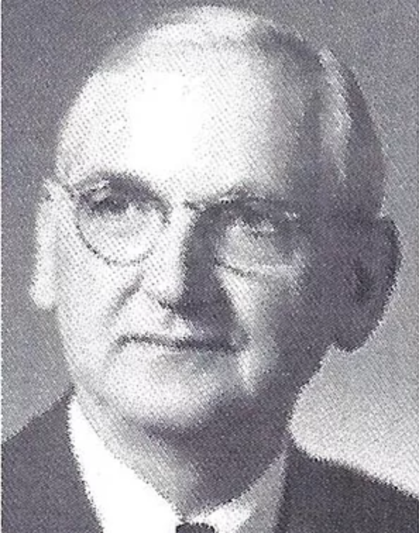 Dr. W.H. Kibler, 1959 Distinguished Person of the Year
