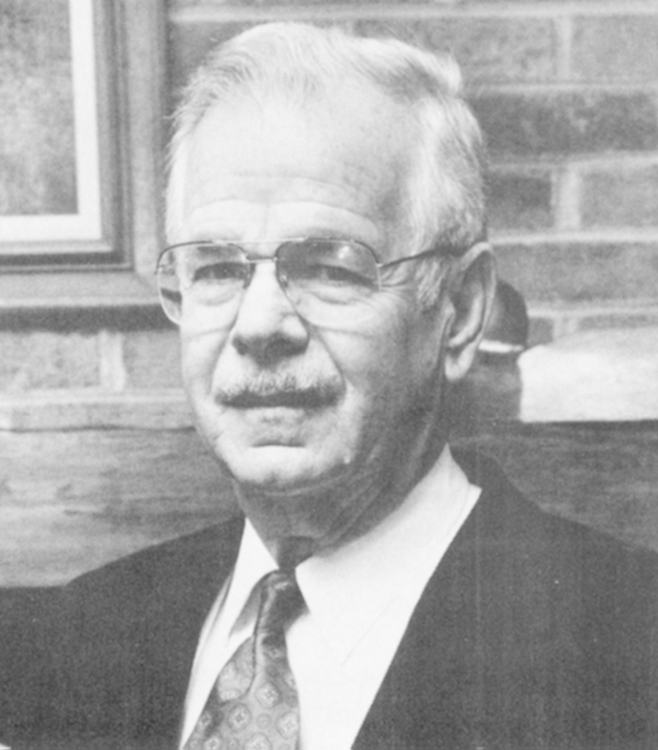 Charles V. Burleson, 1991 Distinguished Person of the Year