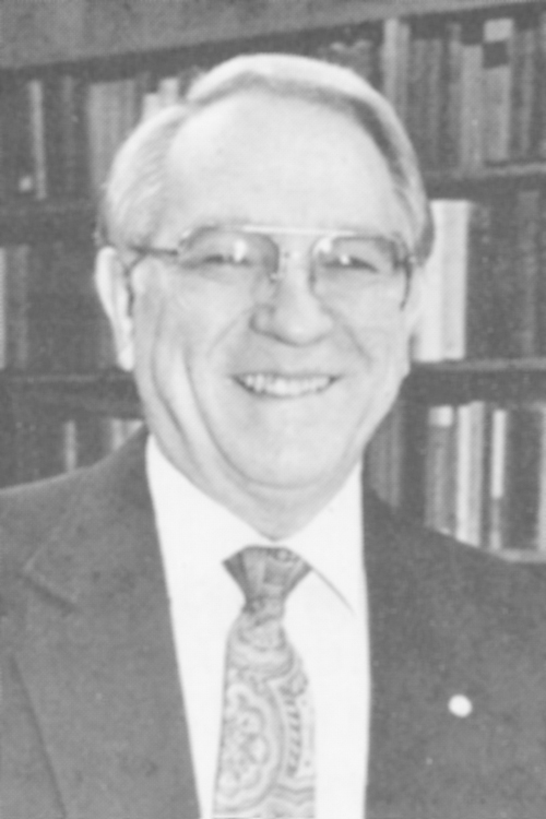Bob D. Shepherd, 1990 Distinguished Person of the Year