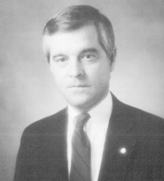 George M. Fouts, 1988 Distinguished Person of the Year