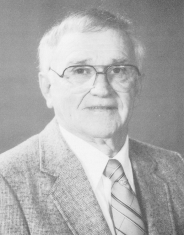 William P. Widenhouse, 1984 Distinguished Person of the Year