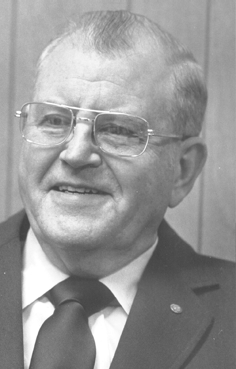 William L. McCombs, 1981 Distinguished Person of the Year