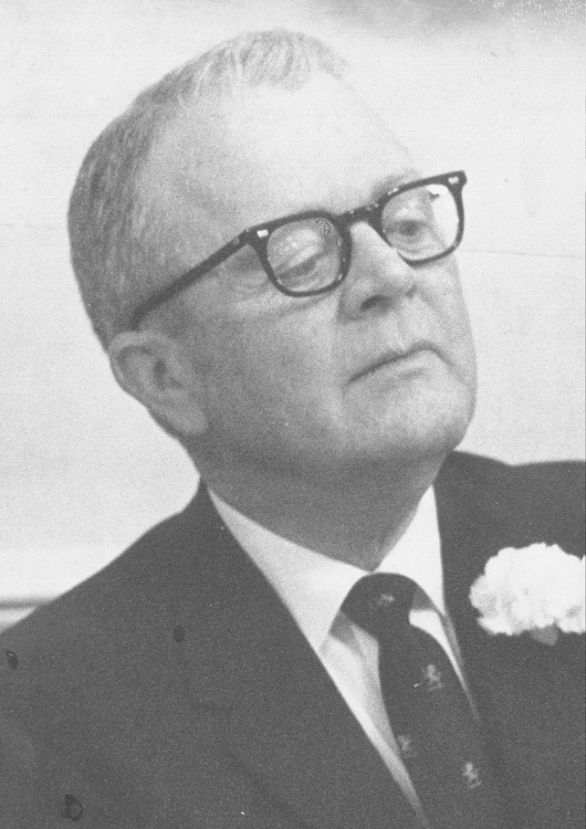Donnell VanNoppen, 1968 Distinguished Person of the Year