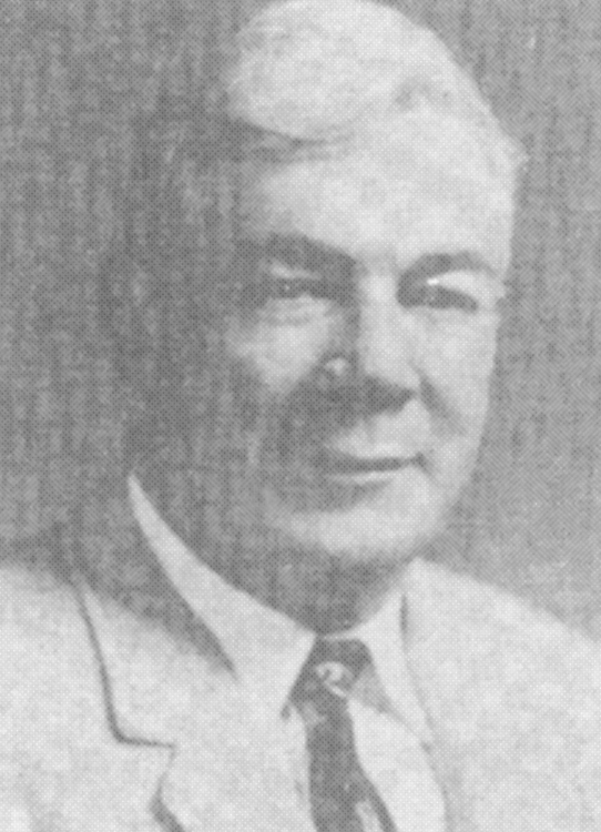 J.O. Barber, 1958 Distinguished Person of the Year