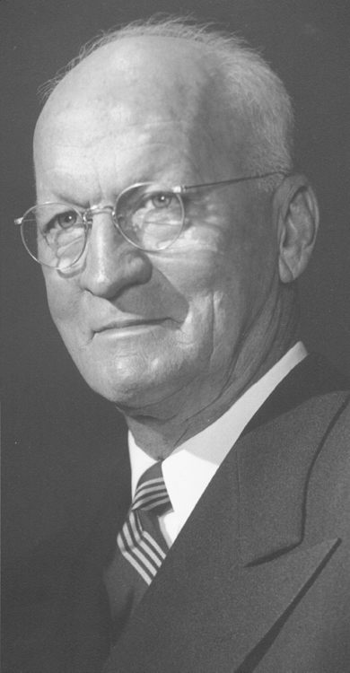 Robert O. Huffman, 1955 Distinguished Person of the Year