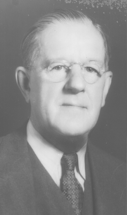 A.C. Chaffee, 1951 Distinguished Person of the Year