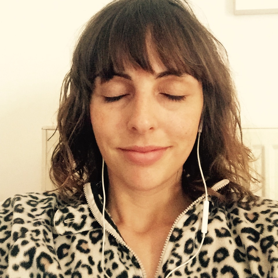 Vicki pampering herself with a morning Headspace meditation